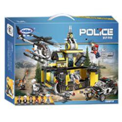XINGBAO XB-10006 10006 XB10006 Xếp hình kiểu Lego Police Raid Research Institute Đột Kích Học Viện Cảnh Sát 1233 khối