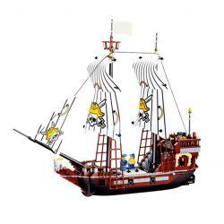 JIE STAR 30009 Xếp hình kiểu Lego PIRATES OF THE CARIBBEAN Pirate's Ship Tàu Cướp Biển 678 khối