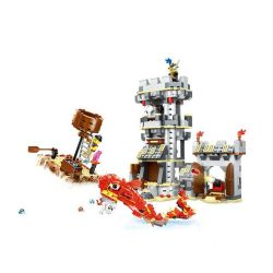 WANGE 54041 Xếp hình kiểu Lego PIRATES OF THE CARIBBEAN Sea Monster Attack Thủy quái tấn công 747 khối