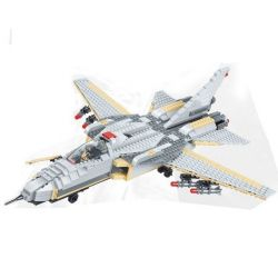 JIE STAR 29030 Xếp hình kiểu Lego MILITARY ARMY American F-14 Fighter Máy bay tiêm kích F-14 của Mỹ 756 khối