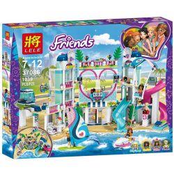 Lele 37086 Lepin 01068 Bela 11035 Sheng Yuan 1155 SY1155 Lezi 97022 Sx 3018 (NOT Lego Friends 41347 Heartlake City Resort ) Xếp hình Khu Nghỉ Dưỡng Thành Phố Hồ Trái Tim 1017 khối