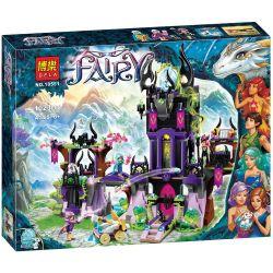 Bela 10551 (NOT Lego Elves 41180 Ragana's Magic Shadow Castle ) Xếp hình Tòa Lâu Đài Bóng Ma Của Mụ Phù Thủy Ragana 1014 khối