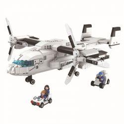 Winner 8029 Xếp hình kiểu Lego Thunder Air Force Osprey Máy Bay Kền Kền 1014 khối