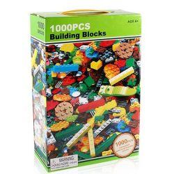 JLB 3D51 Xếp hình kiểu Lego CLASSIC Challenge Engineers With 16 Shapes Thách thức kỹ sư xây dựng với 16 công trinh 1000 khối
