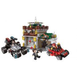 XINGBAO XB-10003 10003 XB10003 Xếp hình kiểu Lego Police Museum Truy Đuổi Kẻ Cướp Bảo Tàng 1001 khối