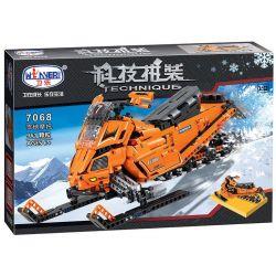 Winner 7068 Xếp hình kiểu Lego TECHNIC The Turbo Snowmobile Moto Snow Motor 1 8 Xe Mô Tô Trượt Tuyết Siêu Đẳng 961 khối