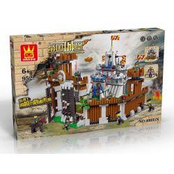 WANGE 40031N Xếp hình kiểu Lego CASTLE Attack The Castle Tấn công lâu đài 952 khối