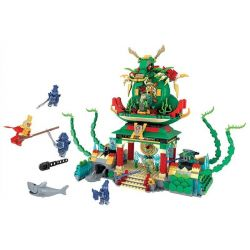 Winner 5048 (NOT Lego Journey to the West Dragon Palace ) Xếp hình Đại Náo Long Cung 948 khối