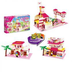 Jie Star 20303 (NOT Lego Friends Dream School ) Xếp hình Ngôi Trường Mơ Ước 901 khối
