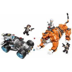 XINGBAO XB-10005 10005 XB10005 Xếp hình kiểu Lego Police Block Modified Tiger Cảnh Sát Thành Phố Ngăn Ngừa Sự Biến đổi Của Hổ 850 khối