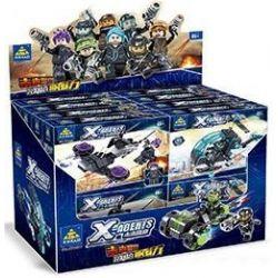 Kazi Gao Bo Le Gbl Bozhi KY6601 (NOT Lego X Agents X-Agents ) Xếp hình Những Mẫu Xe Tương Lai Của Cảnh Sát gồm 8 hộp nhỏ 591 khối