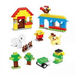 Wange 58231 (NOT Lego Classic Creative Change - Small Particles ) Xếp hình Thỏa Sức Sáng Tạo Với Các Khối Nhỏ 625 khối