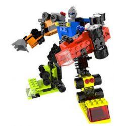 Qizhile 5004 (NOT Lego Creator 3 in 1 Puzzle Robot Combined ) Xếp hình Xếp Hình Kết Hợp Robot lắp được 16 mẫu 622 khối