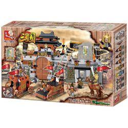SLUBAN M38-B0266 B0266 0266 M38B0266 38-B0266 Xếp hình kiểu Lego Three Kingdoms War Of Changsha Trận đánh Trường Sa Tam Quốc 610 khối
