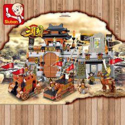 Sluban M38-B0266 (NOT Lego Castle ) Xếp hình Trận Đánh Trường Sa Tam Quốc 610 khối