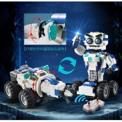 DOUBLEE CADA C51028 51028 Xếp hình kiểu Lego TECHNIC DADA Remote Control Robot, Drilling Robot Máy Khoan 606 khối điều khiển từ xa