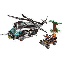 XINGBAO XB-10004 10004 XB10004 Xếp hình kiểu Lego Police Pursue Cuộc đối đấu Giữa Cảnh Sát Và Những Tên Cướp 600 khối