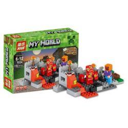 YILE 832 832A 833 833A 834 834A 835 835A Xếp hình kiểu Lego MINECRAFT MY WORLD 4 Models Can Be Combined 4 Trong 1 gồm 4 hộp nhỏ lắp được 4 mẫu 600 khối