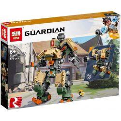 NOT Lego OVERWATCH 75974 Bastion Watching Pioneer Fortress And Bird Ni Ni , LARI 11182 LEPIN 50005 SHENG YUAN SY SY1300 1300 XINH 8324 Xếp hình Người Máy Bastion 602 khối
