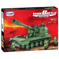 Winner 8011 (NOT Lego Tank Battle Tankbattle ) Xếp hình Xe Tăng Tự Hành 593 khối