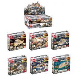 Lepin 03071 (NOT Lego Military Army 6 In 1 ) Xếp hình 6 Thiết Bị Quân Sự Có Khả Năng Kết Hợp gồm 6 hộp nhỏ 814 khối