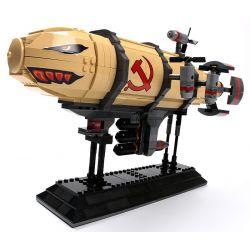 Kazi KY81017 81017 Xếp hình kiểu Lego RED ALERT 3 RED ALERT 3 Kirov Airship Red Warning Kolov Airship Kinh Khí Cầu Quân Sự 795 khối