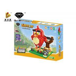 Panlos G835-1 (NOT Lego Micro mini block Chim Đỏ Trong Game Angry Birds ) Xếp hình 550 khối