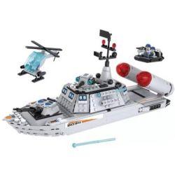 Winner 8034 Xếp hình kiểu Lego MILITARY ARMY White Shark 8034 Biệt đội Cá Mập Trắng 550 khối