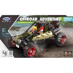 XINGBAO XB-03033 03033 XB03033 Xếp hình kiểu Lego OFFROAD ADVENTURE Super Offroad Adventure Super Off-road Super Car Siêu Xe Offroad 537 khối