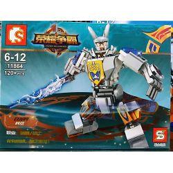 SEMBO 11862 11863 11864 11865 Xếp hình kiểu Lego KING OF GLORY HEGEMONY 4 Models Of Machine 4 Chiến Binh Vinh Quang gồm 4 hộp nhỏ 526 khối