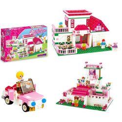 JIE STAR 20301 Xếp hình kiểu Lego FRIENDS Nice Garden Khu vườn xinh đẹp 522 khối