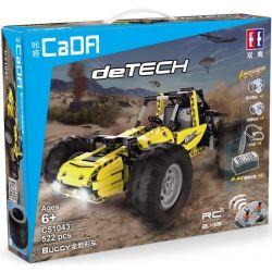 DOUBLEE CADA C51043 51043 Xếp hình kiểu Lego TECHNIC Buggy All-tunnel Xe ô Tô địa Hình Buggy 522 khối điều khiển từ xa