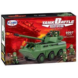 Winner 8007 Xếp hình kiểu Lego TANK BATTLE TankBattle Land War 02 Assay Xe Tăng Nga T90A 520 khối