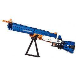 Cada C81002 C81002W Lego Technic Block Gun United States Rifle, Caliber .30, M1 Xếp hình Súng Trường Mỹ gồm 2 hộp nhỏ 583 khối