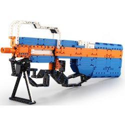 Cada C81003 C81003W Lego Technic Block Gun P90 Assault Rifle Xếp hình Súng Tiểu Liên Fn P90 gồm 2 hộp nhỏ 581 khối