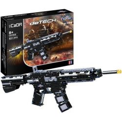 DOUBLEE CADA C81005 81005 Xếp hình kiểu Lego TECHNIC M4A1 Assault Rifle Súng Trường Tấn Công 621 khối
