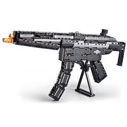 DOUBLEE CADA C81006 81006 Xếp hình kiểu Lego TECHNIC MP5 Submachine Gun Súng Tiểu Liên Heckler & Koch MP5 617 khối