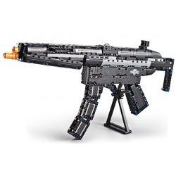 Cada C81006 C81006W Lego Technic Block Gun Mp5 Xếp hình Súng Tiểu Liên Heckler & Koch Mp5 gồm 2 hộp nhỏ 617 khối