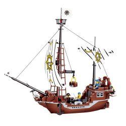 JIE STAR 30008 Xếp hình kiểu Lego PIRATES OF THE CARIBBEAN Revenge Ship Thuyền báo thù 426 khối