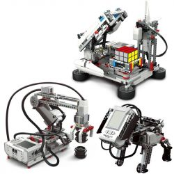 Kazi KJ30010A 30010A Xếp hình kiểu Lego TECHNIC EV5 Bộ Lắp Ghép Robocon Có Động Cơ EV5 822 khối có động cơ pin