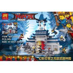 Lele 31095 (NOT Lego Ninjago Movie The Lele Ninja Movie ) Xếp hình Thần Miếu Bất Khả Chiến Bại 569 khối