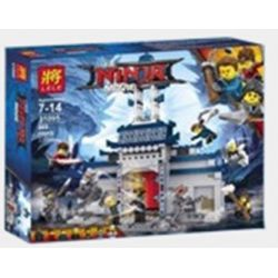 LELE 31095 Xếp hình kiểu THE LEGO NINJAGO MOVIE The LELE Ninja Movie Invincible Weapon Of Phantom Ninja Thần Miếu Bất Khả Chiến Bại 569 khối