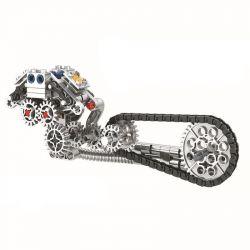Winner 7046 Xếp hình kiểu Lego TECHNIC The Cruising Motorcycle Harley Motor 1 6 Xe Máy Crusing Tỷ Lệ 1 6 Màu đỏ 568 khối