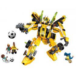 Enlighten 3005 (NOT Lego Transformers Super Soccer ) Xếp hình Bumblebee Đá Bóng 557 khối