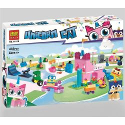 Bela 11019 (NOT Lego Unikitty 41455 Unikingdom Creative Brick Box ) Xếp hình Vương Quốc Ngộ Nghĩnh Của Chú Mèo Kỳ Lân 433 khối