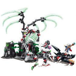 Sembo SD3401 (NOT Lego Chronicles of the Ghostly Tribe Ghost Tribes ) Xếp hình Cuộc Chiến Của Anh Hùng Tribes 509 khối