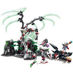 SEMBO SD3401 3401 Xếp hình kiểu Lego CHRONICLES OF THE GHOSTLY TRIBE Ghost Tribes cuộc chiến của anh hùng tribes 509 khối