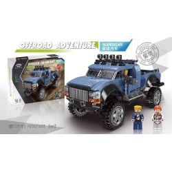 XINGBAO XB-03032 03032 XB03032 Xếp hình kiểu Lego OFFROAD ADVENTURE Super Offroad Adventure Super Off-road Super Car Xe Bán Tải 555 khối