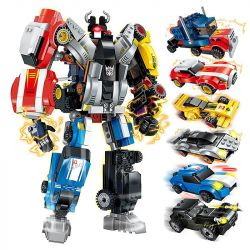 Enlighten 1409 1409-1 1409-2 1409-3 1409-4 1409-5 1409-6 Qman 1409 1409-1 1409-2 1409-3 1409-4 1409-5 1409-6 Xếp hình kiểu Lego TRANSFORMERS Warrior Calamity 6 Combinations Of Tianji War Người Máy Biế