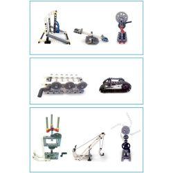 Kazi KJ30095 30095 Xếp hình kiểu LEGO Mindstorms KS1 động cơ pin 548 khối có động cơ pin